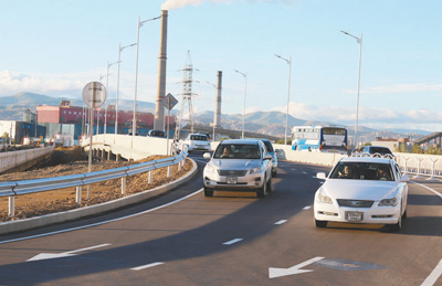 雅尔玛格新桥成为中蒙友谊新亮点