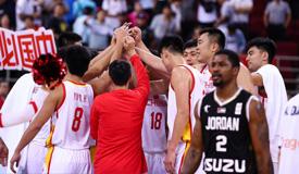 世预赛-韩德君16分 中国男篮逆转胜约旦