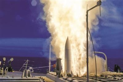"""""""标准""""-6导弹装备日舰引关注"""